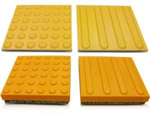 점자블록 (PVC, ABS, 자기질, 콘크리트)