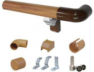 PVC 핸드레일 HUMC-8100